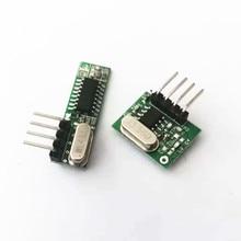 1 Set superheterodyne 433Mhz RF transmitter and receiver Mod
