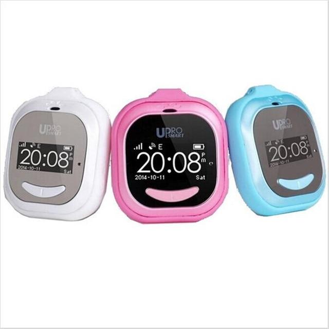Kids Cute Bluetooth Smart GPS Wrist Watch UPro P5 Location Tracker Remote Monitor Wristwatch Child Anti Lost Clock GSM Phone