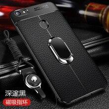 Voor Google Pixel 3 Xl Case Luxe Lederen Textuur Met Stand Ring Magneet Beschermende Cover Case Voor Pixel 2 xl 3XL 2xl