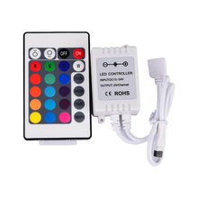 24 Key RGB Controller IR Remote LED Controller for SMD 3528 5050 RGB LED Strip Lights RGB LED Lighting Lamps