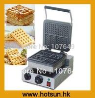 110V 220V Electric Belgian Liege Waffle Maker Machine Baker