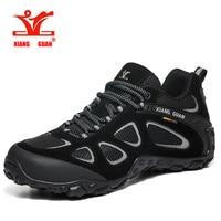 XIANG GUAN High Quality Hiking Shoes New Design Anti slip Trekking Sneakers Men Outdoor Walking Climbing Shoes