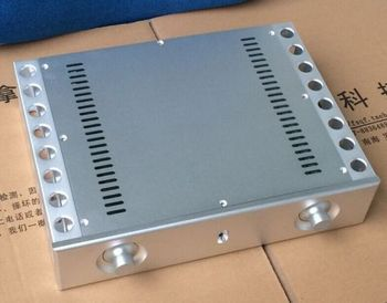 BZ3608C Full Aluminum Enclosure Both sides heatsink /power amplifier box/chassis