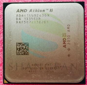 AMD Athlon  X4 641 X4 641X X4-641K X4-641K 2.8GHz 100W Quad-Core CPU Processor  AD641XWN43GX Socket FM1/ 905pin
