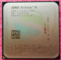 Free Shipping For X4 641 2 8GHz 100W Quad Core CPU Processor AD641XWN43GX Socket FM1 905pin