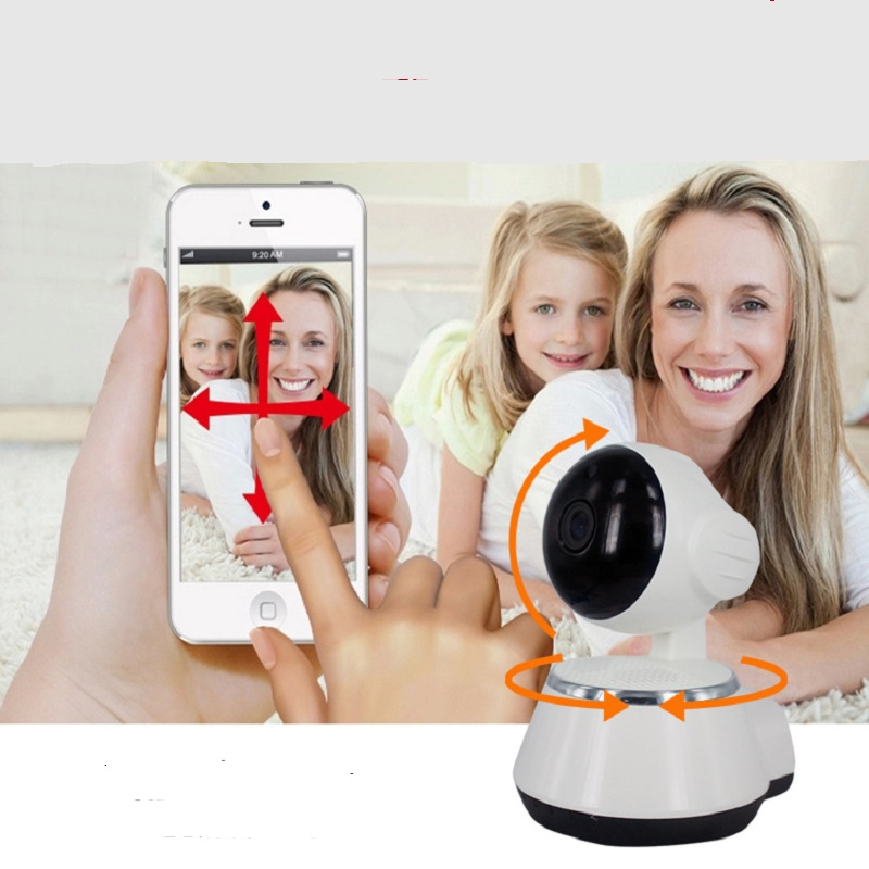 Hd Ip Cam Wifi 720P Wireless  IR Infrared Night Vision Network Surveillance Indoor Home Security Cctv P2P Camera Two Way Audio