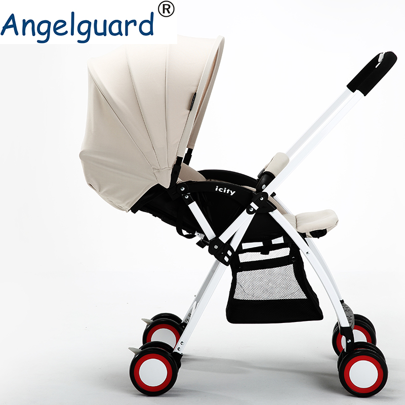 Baby Stroller Light Folding by A Key Two-way push  Angeguard pram Baby Stroller Light Folding by A Key Two-way push  Angeguard pram