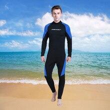 Haute Qualité 3 MM Néoprène Plongée sous-marine Combinaison D'hiver De Natation Surf Vêtements Hommes Chaud Salopette Combinaisons