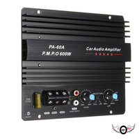 12V 600W High Power Audio Amplifier Board Active Subwoofer Car Power Amplifier Board 60A Car Modified Motherboard 4Ohm