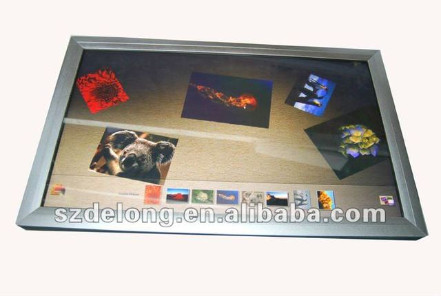 New design! 21.6inch AIO ten point touch PC with Intel Atom D525,new aluminum alloy frame,wifi built-in