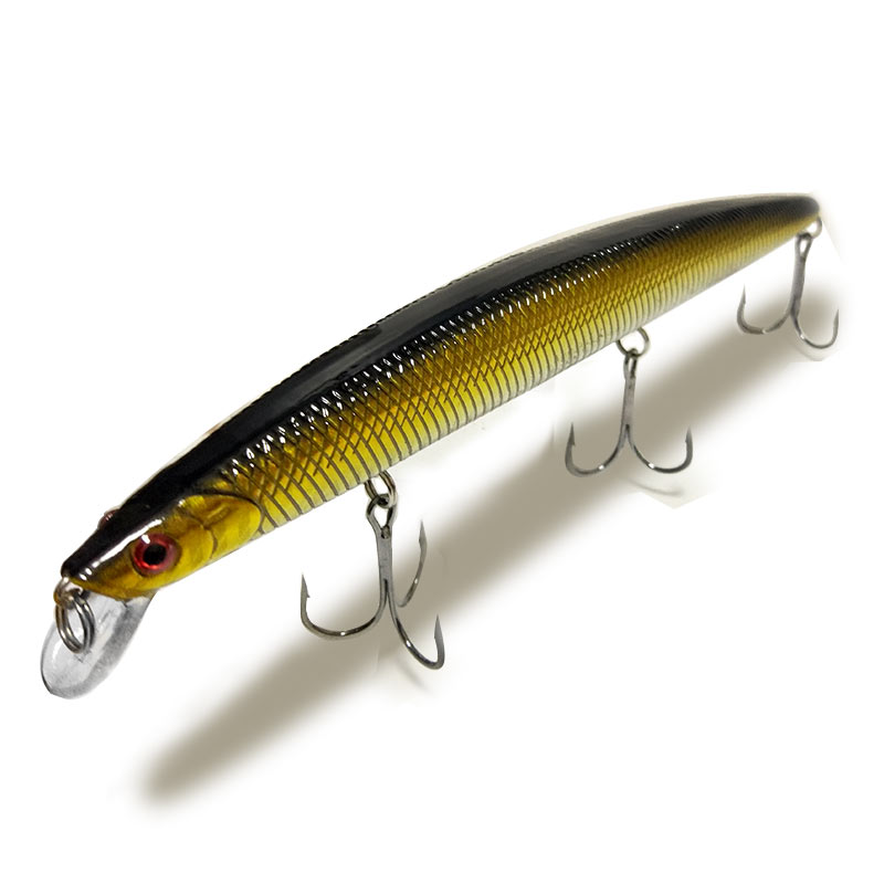 1PCS Fishing Lure 18cm 26g Hard Plastic Minnow Plastic Artificial bait 3D Eyes Crankbait Lifelike Bait With Three Fishing Hooks 1pcs 20cm 45g fishing lure large minnow lure artificial 3d eyes hard minnow baits with hooks fishing tackle senuelos de pesca