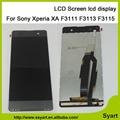 Pantalla lcd de alta calidad pantalla lcd + pantalla táctil digitalizador asamblea para sony xperia xa dual f3112 f3116