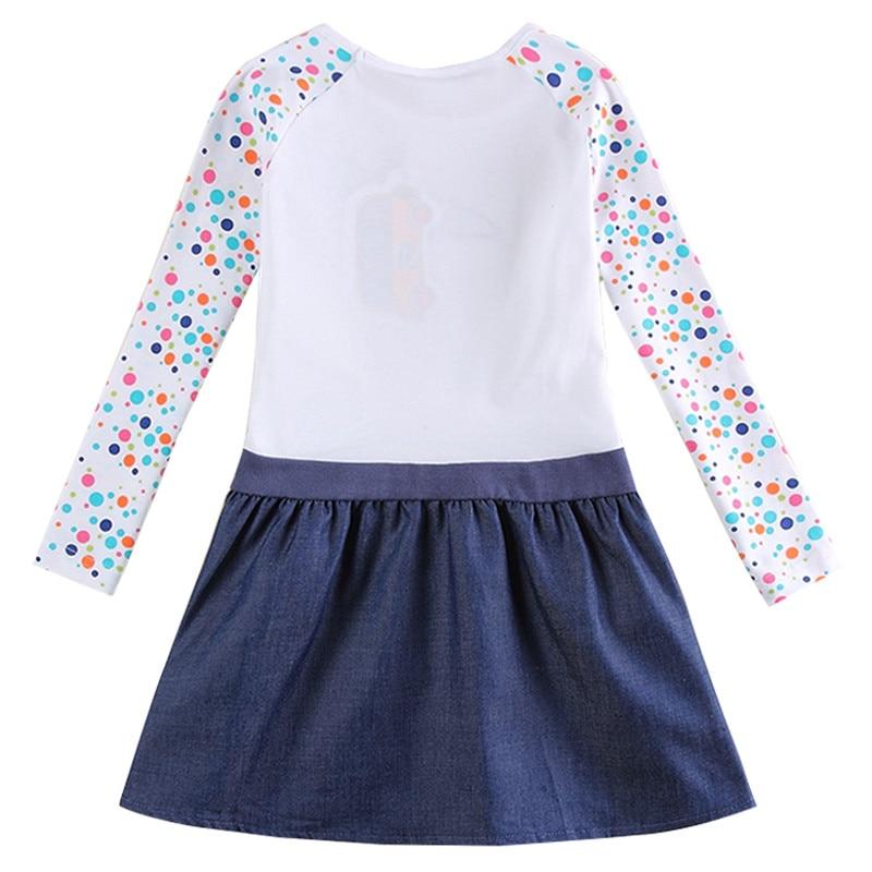 NOVATX 2-8t dziewczynka sukienki bawełna księżniczka Sukienka dla - Ubrania dziecięce - Zdjęcie 2