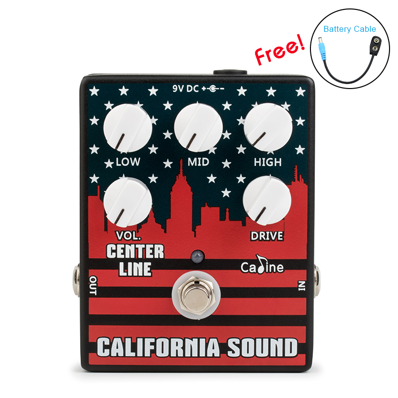 New Caline CP 57 Guitar Effect Pedal California Sound Guitar Pedal high quality Aluminum Alloy With