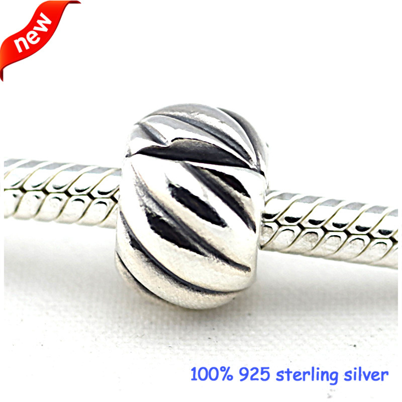 Pandora Abstract Silver Clip