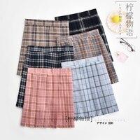 Japanese JK Sets Girls Skirts High School Cosplay JK Uniform Sailor Suits Pleated Skirt #18