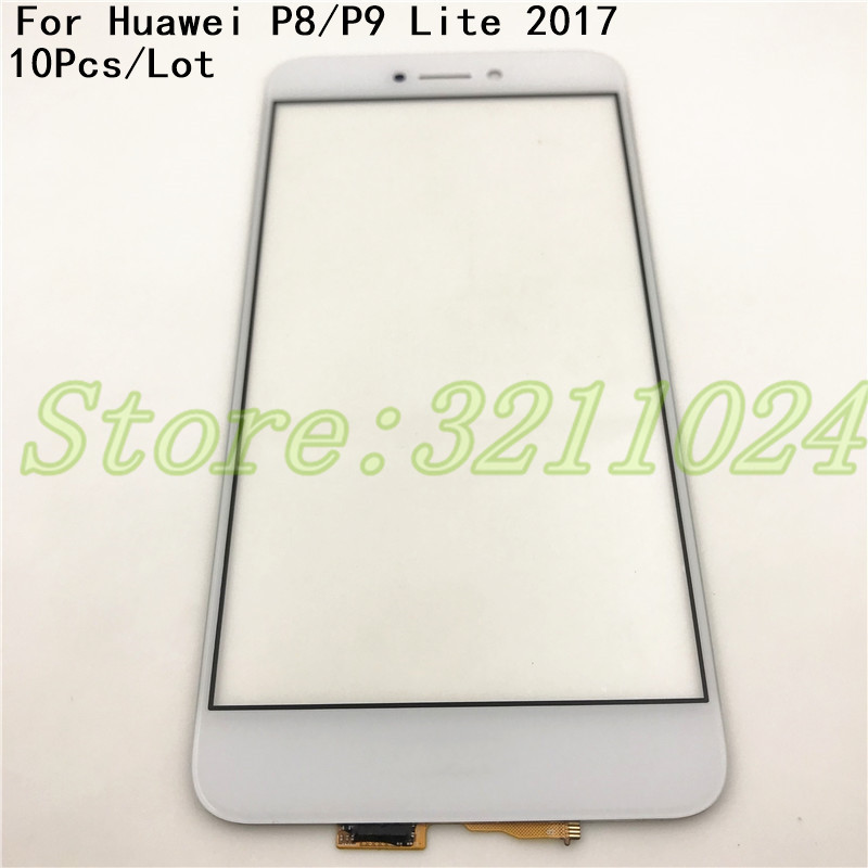 10Pcs/Lot 5.2 Touchscreen For Huawei P8 Lite 2017 P9 Lite 2017 Touch Screen Digitizer Sensor Panel Front Glass Lens +Tracking10Pcs/Lot 5.2 Touchscreen For Huawei P8 Lite 2017 P9 Lite 2017 Touch Screen Digitizer Sensor Panel Front Glass Lens +Tracking