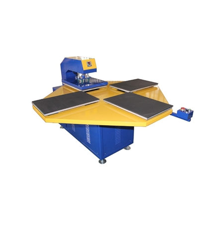 printing area:38X 38cm 4 stations carousel heat press machine for t shirts 1 pc 2200w image heat press machine for t shirt with print area available for 38 cm x 38 cm