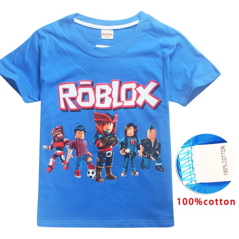 2019 Marshmello Summer Boys T Shirt Roblox Cartoon Children's Clothes  Marshmellow Baby Short Sleeve T-Shirts for Girls Kids Tees