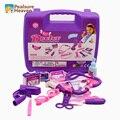Горячая Доктор kit toys set for children play врач моделирование медицина коробка интересно притворяться детский врач play educational toys