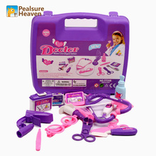 Hot Doctor kit toys set for children play doctor simulation medicine box interesting pretend kids doctor play educational toys