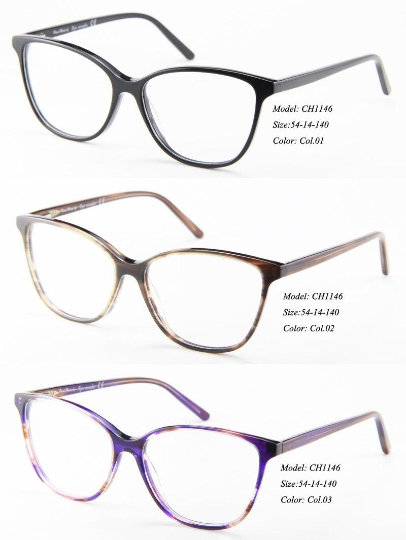 2dd84493b8 இEye wonder femmes acétate montures de lunettes pour la myopie yeux ...