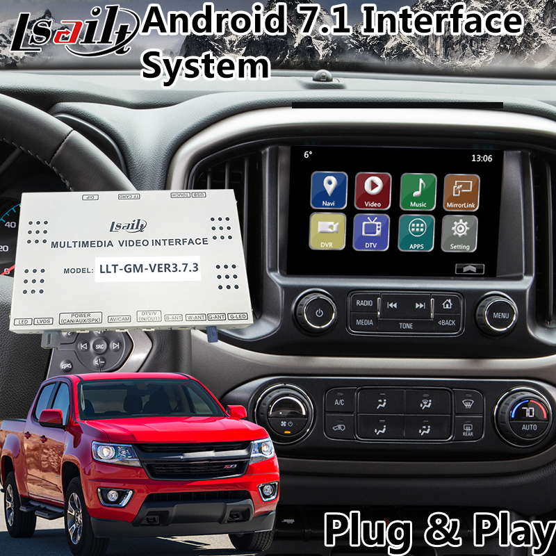 Video-Interface Gps Navigation Multimedia Mylink-System Android for Colorado/camaro