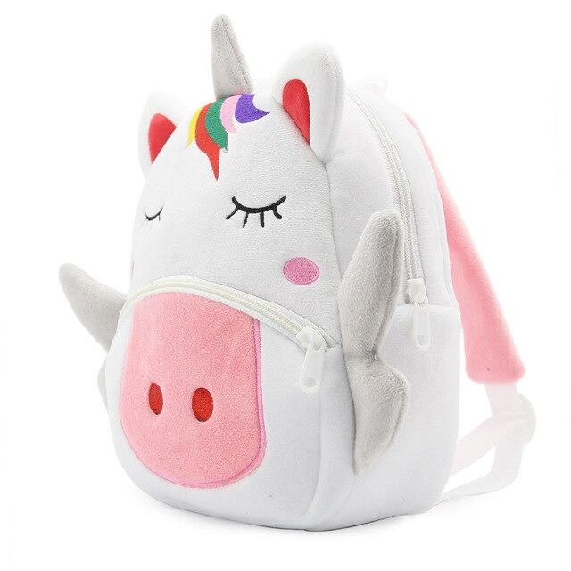 Mochila escolar de unicornio 2
