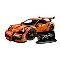 New LEPIN 20001 Technic Series Race Car Model Building Kits Blocks Bricks Compatible 42056 Boys Gift
