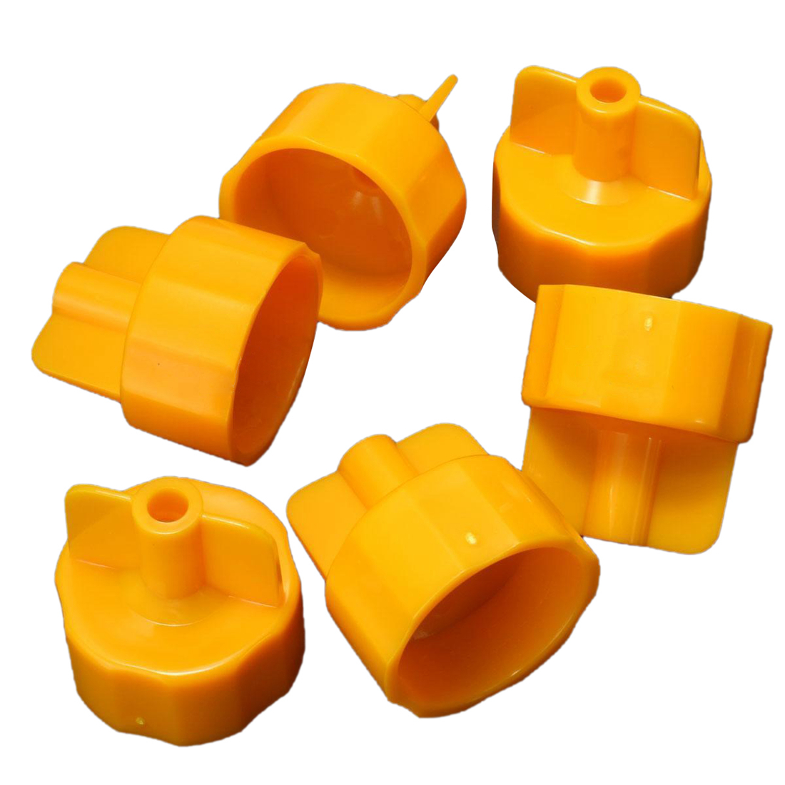 100x Tile Positioning Tool Base Cap Flooring Horizontal System Construction Yellow 100x tile positioning tool base cap flooring horizontal system construction yellow