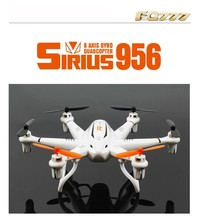 FQ777 956 (without Camera)/ 956C (with HD Camera RTF) 2.4G 6-Axle 4CH Drone Headless Mode RC Quadcopter F16440 /F16439