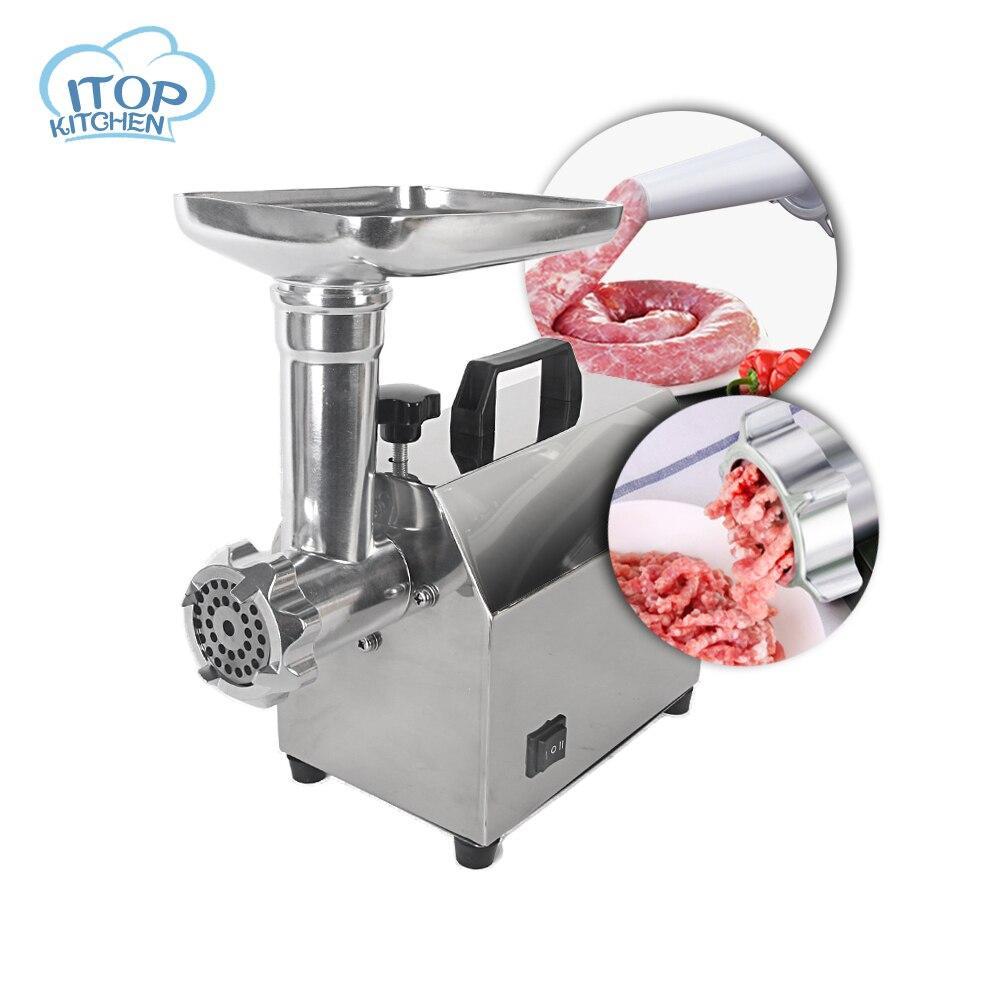 Ev ve Bahçe'ten Kıyma Makineleri'de ITOP Çok Fonksiyonlu Kıyma makinesi Yüksek Kalite Paslanmaz Çelik Bıçak Ev Pişirme Makinesi Kıyma Sosis Makinesi Mutfak yardımcısı'da  Grup 1