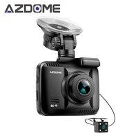 Azdome GS63H Двойной объектив FHD 1080P спереди + VGA сзади Видеорегистраторы для автомобилей Регистраторы регистраторы Новатэк 96660 с сзади Камера вст