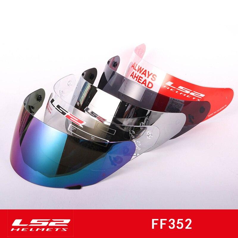 Original LS2 FF352 Helmet Visor Full Face Motorcycle Helmet Lens Replacement Lens Be Suitable For Ls2 FF352 FF384 FF351 Helmet