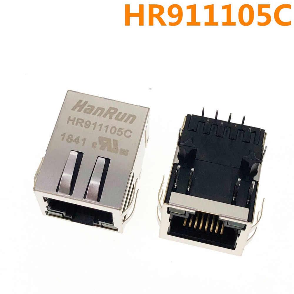 Новый и оригинальный HR911105C HR911105 сетевой Трансформатор HanRun RJ45