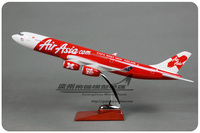 47cm Resin A340 Air Asia Airplane Model Asian Airlines Airbus Air Asia A340 Airways Aircraft Plane Aviation Model Adult Gift Toy