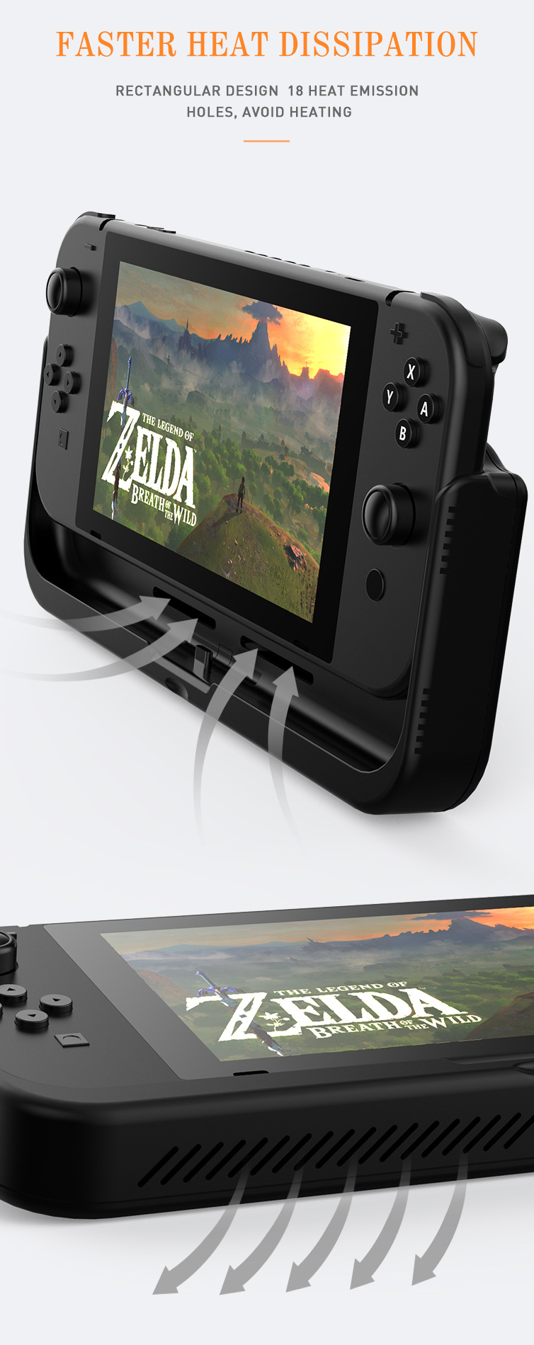 Nintend Switch Fast Charging External Battery 25