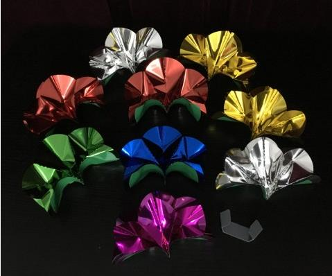plastic Holder Version Cheap Sale 9 Pcs/set Spring Flowers From Fingertips Magic Tricks,magic Tricks,props,comedy,magia Toys,joke Extremely Efficient In Preserving Heat