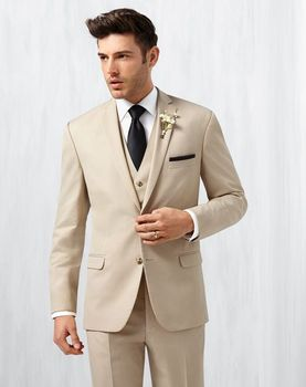 Fashionable Mens Dinner Prom Suits Groom Tuxedos Groomsmen Wedding Blazer Suits (Jacket+Pants+Vest+Tie) K:2826
