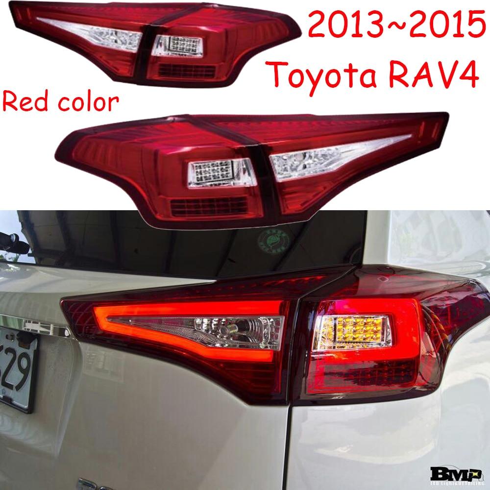 1set Bumper Taillamp for Toyota RAV4 taillight 2013~2015y car accessories RAV 4 LED fog tail light RAV4 rear light