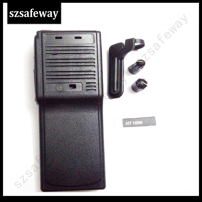 New Two Way Radio Housing For HT1000 With Knobs And Dust Cover  For Motorola Walkie Talkie Accessories Free Shipping