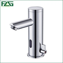 Sensor Faucet Automatic Inflrared Sensor Hand Touch Tap Hot Cold Mixer Chrome Polished Sink Mixer,Bathroom Tap, Free Shipping