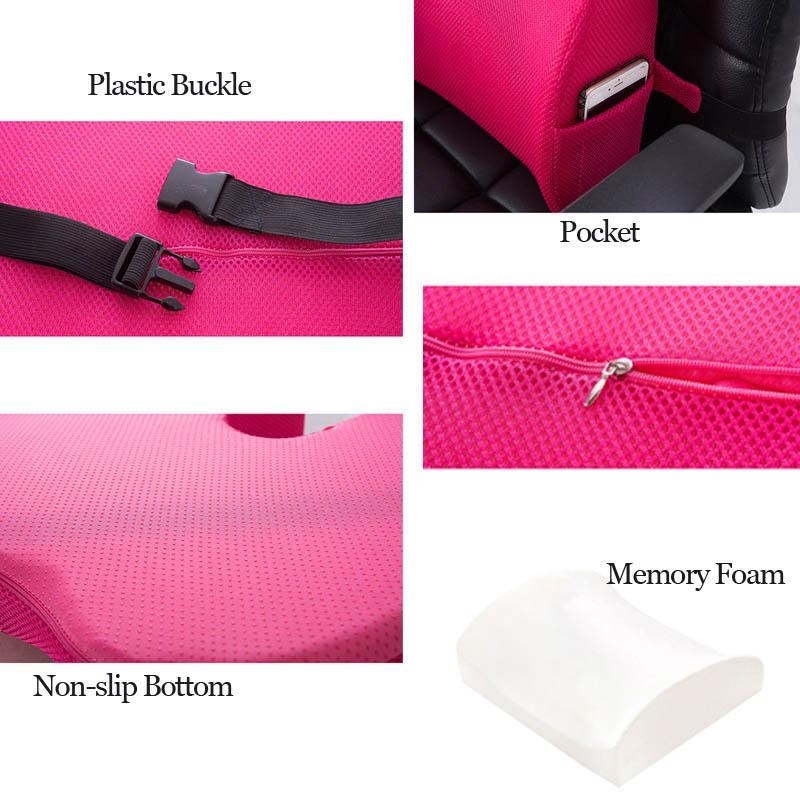 HTB1BPMwPrvpK1RjSZPiq6zmwXXae Car Seat Cushion Mat Coccyx Orthopedic Memory Foam Chair Massage Mat Back Cushion Pad Office Nap Therapy Callipygian Cushion