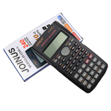 Quality Function Calculator Handheld Multi-function 10+2 Digital Display 2-Line LCD Scientific Calculator, Shipping No Battery