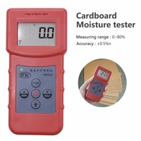 100% New MS310 Inductive Moisture Analyzer Wood Moisture Meter For Wood Timber Paper Bamboo Carton Concrete Metope
