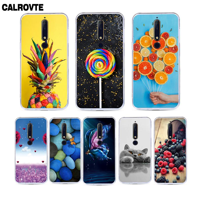 Fashion Soft Silicone Case For Nokia 1 2 3 5 6 7 2017 Back Cover For Nokia 6 2018 Nokia 6.1 2.1 3.1 5.1 7.1 Plus Phone Cases