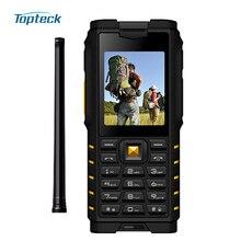 Ioutdoor T2 özellikli cep telefonu IP68 Su Geçirmez 2 Yönlü Radyo Walkie Talkie Interkom Tri-geçirmez 2G GSM MP3 Sağlam Interkom