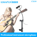KIMAFUN  instrument microphone CX110 for violin, guitar, double bass, ukulele and more box type instrument free shipping