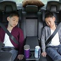 תמיכת ראש והצוואר סיאט אוניברסלי משענת הראש לרכב סטיילינג המכונית כרית כרית כתף צוואר עור כרית שינה