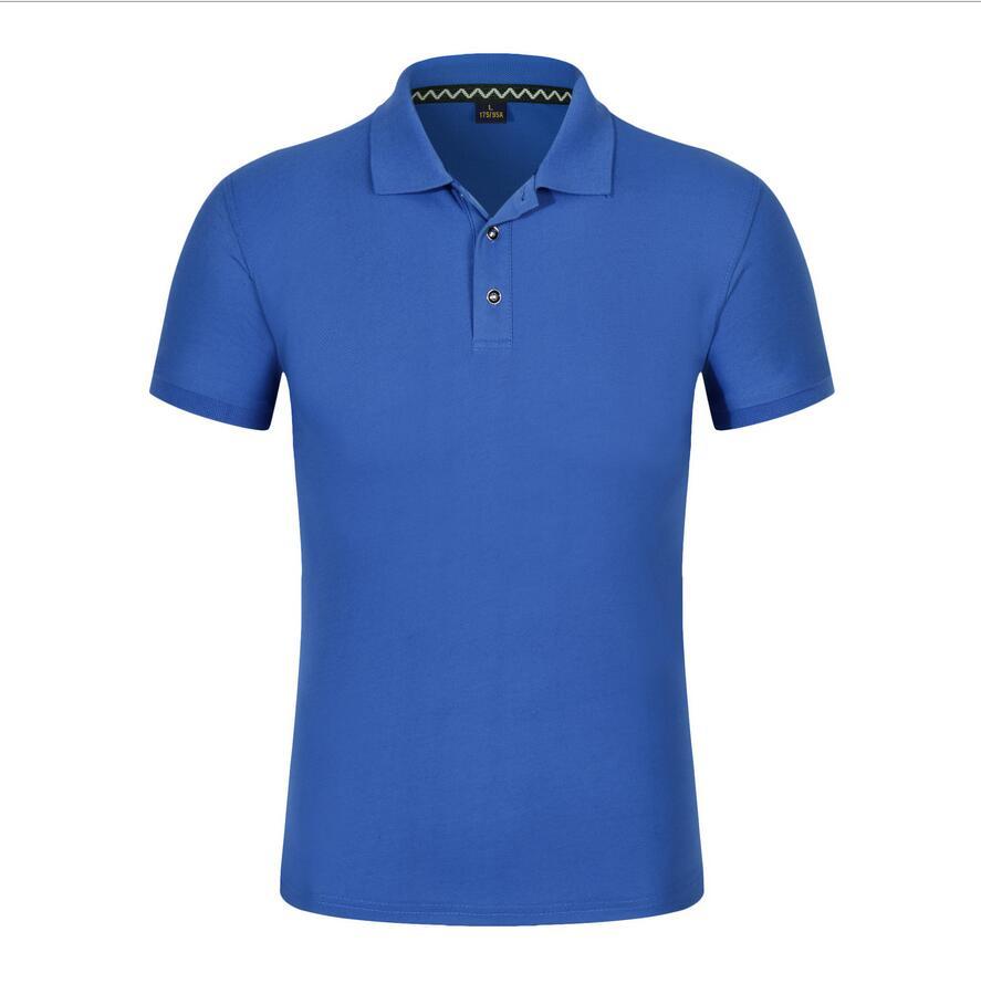 2019 New PP85878 Summer Brand Men   Polos   Shirt Men Cotton Short Sleeve Shirt Brands Jerseys Mens Shirts   Polos   Shirts Plus Size